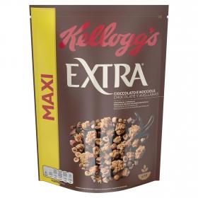 Cereales de avena tostada con chocolate Extra Kellogg's 500 g.