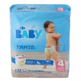 Pants  Carrefour Baby T4 (8-15 kg.) 22 ud.