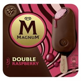 Bombón helado Doble Raspberry Magnum 3 ud.