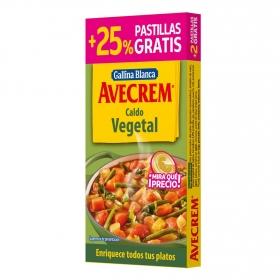 Caldo vegetal en pastillas Avecrem 100 g.