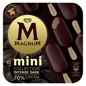 Mini bombón helado Intense Dark Magnum 6 ud.