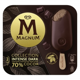 Bombón helado Intense Dark Magnum 3 ud.