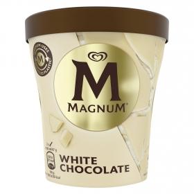 Helado de chocolate blanco Magnum 440 ml.