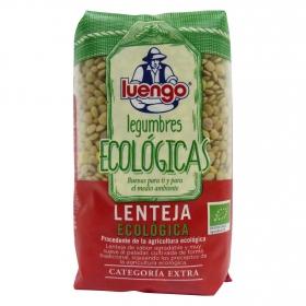 Lenteja categoría extra ecológica Luengo 500 g.