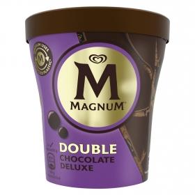 Helado de chocolate deluxe Double Magnum 440 ml.