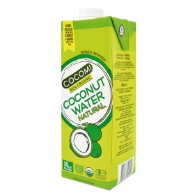 Agua de coco ecológica Cocomi sin gluten brik 1 l.