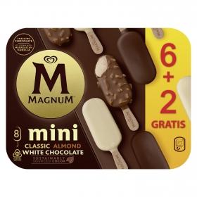 Surtido mini bombón helado Magnum pack de 8 unidades de 44 g.