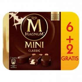 Mini bombón helado Classic Magnum sin gluten 8 ud.