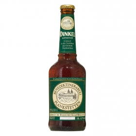 Cerveza ecológica Benediktinerabtei Planketetten Dinkel botella 33 cl.