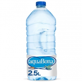 Agua mineral Aquabona natural 2,5 l.