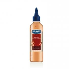 Salsa Chili sweet spicy Hellmann's envase 225 g.
