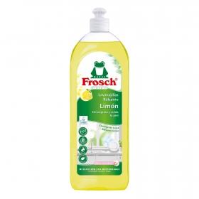 Lavavajillas a mano concentrado aroma limón ecológico Frosch 750 ml.
