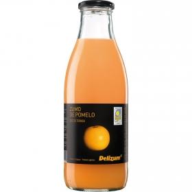 Zumo de pomelo ecológico Delizum botella 1 l.