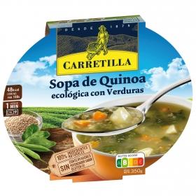 Sopa de quinoa con verduras ecológica Carretilla sin gluten 350 g.