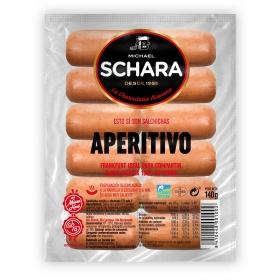 Salchichas Frankfurt especial tapas Schara sin gluten y sin lactosa 138 g.
