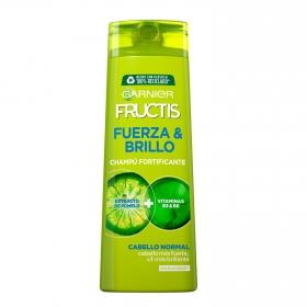 Champú fortificante Fuerza y Brillo para cabello normal Garnier-Fructis 360 ml.