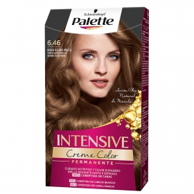 Tinte Intensive Color Cream nº 6.46 Rubio Oscuro Mocca Palette 1 ud.