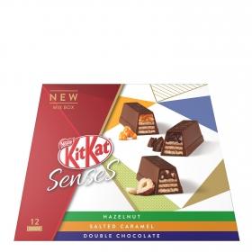 Surtido de barritas de galleta crujiente cubiertas de chocolate Nestlé Kit Kat 120 g.