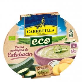 Crema de calabacín ecológica Carretilla sin gluten 350 g.