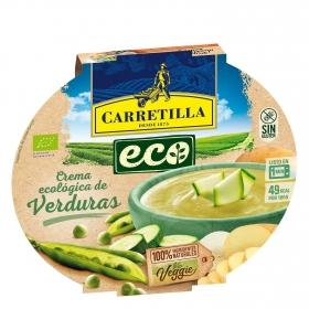 Crema de verduras ecológica Carretilla sin gluten 350 g.
