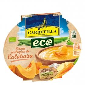 Crema de calabaza y zanahorias ecológica Carretilla sin gluten 350 g.