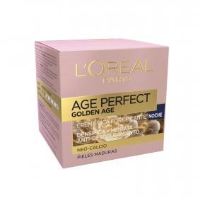 Crema rica fortificante noche neo-calcio Age Perfect Golden Age L'Oréal 50 ml.