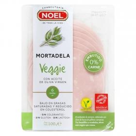 Mortadela clasica veggie loncheada Embutidos Noel 100 g