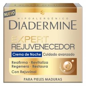 Crema de noche Expert Rejuvenecedor para pieles maduras Diadermine 50 ml.
