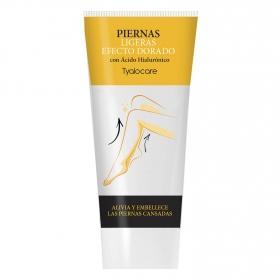 Crema Piernas ligeras efecto dorado Tyalocare 225 ml.