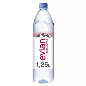 Agua mineral Evian natural 1,25 l.