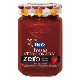 Mermelada de fresa zero azúcares añadidos Hero 285 g.