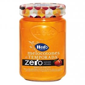 Mermelada de melocotón zero azúcares añadidos Hero 285 g.