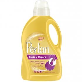 Detergente líquido para toda la ropa Perlan 25 lavados.