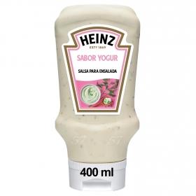 Salsa para ensalada sabor yogur Heinz envase 400 ml.