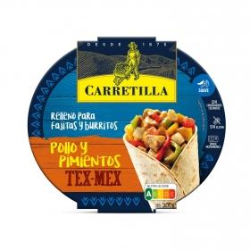 Relleno para burrito y fajitas Carretilla 300 g.