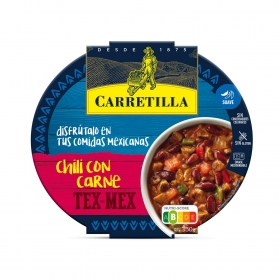 Chili con carne Carretilla 350 g.