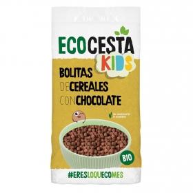 Cereales con chocolate ecológicos Ecocesta 400 g.