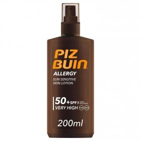 Spray solar Allergy SPF 50+ Piz Buin 200 ml.