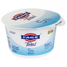 Yogur griego 5% grasa sin azúcar añadido Fage 500 g.