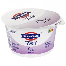 Yogur griego desnatado 0% sin azúcar añadido Fage 500 g.