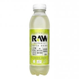 Bebida Isotónica ecológica Super Drink Raw sin gluten sabor lima limón botella 50 cl.