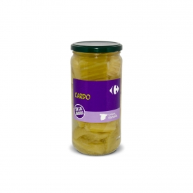 Cardo sin sal añadida en tarro Carrefour 400 g.
