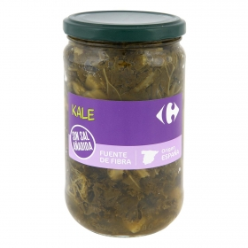 Kale sin sal Carrefour 330 g.