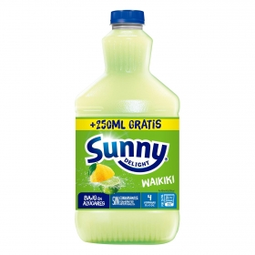 Zumo Sunny Delight Waikiki botella 1,25 l.