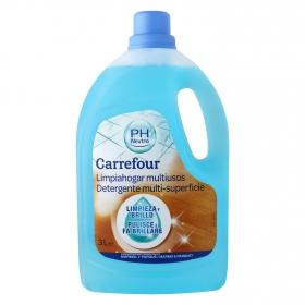 Limpiahogar multiusos con Ph Neutro superfícies delicadas Carrefour 3 l.