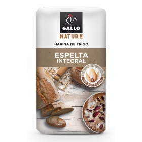Harina de trigo de espelta integral Gallo Nature 1 kg.