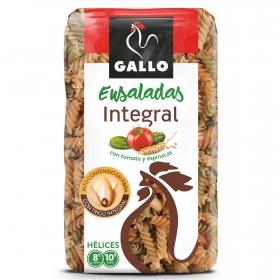 Espirales integrales de tomate y espinacas Gallo 400 g.