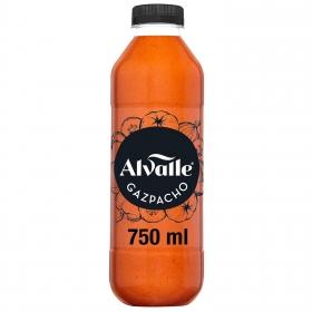 Gazpacho con aceite de oliva virgen extra Alvalle 750 ml.