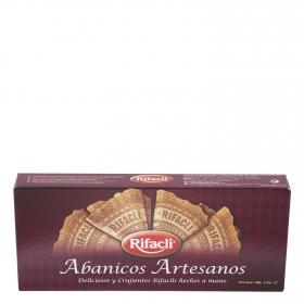 Abanicos de galleta artesanos Rifacli 100 g.