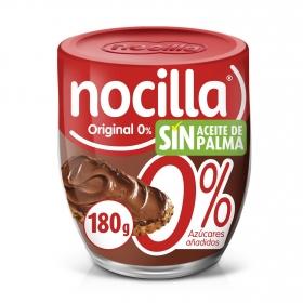 Crema de cacao con avellanas con stevia Nocilla 190 g.
